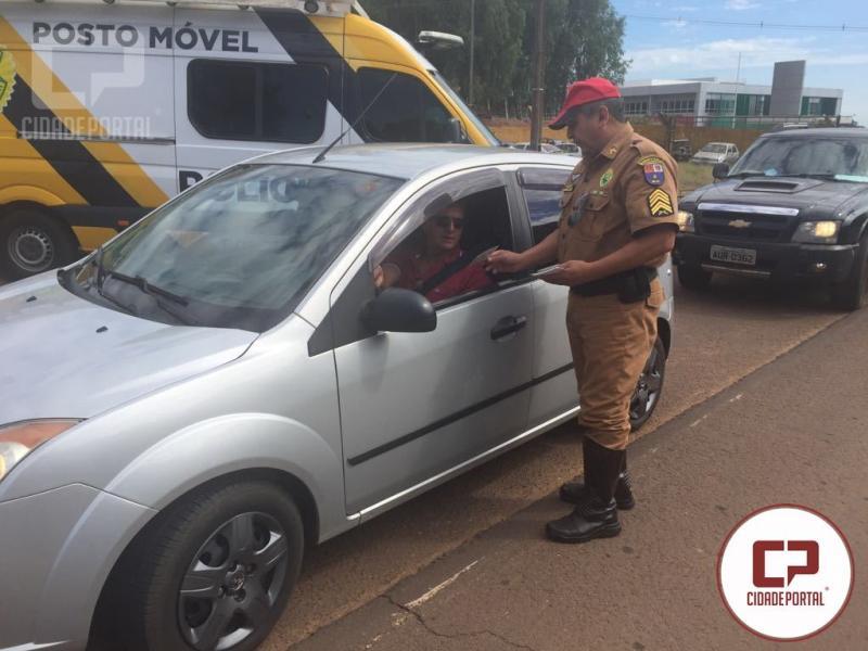 Posto Policial Rodoviário Estadual de Goioerê realiza atividade alusiva à Tiradentes