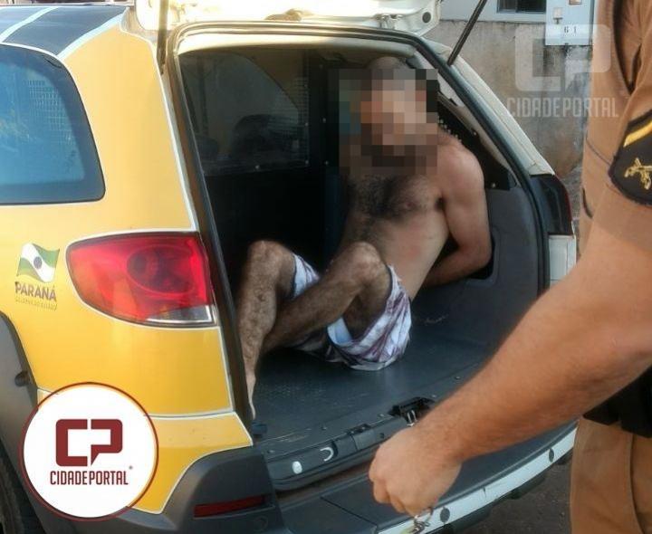 Operação do serviço de inteligência do 7º BPM e Policiais de Moreira Sales prendem o último foragido da cadeia de Goioerê