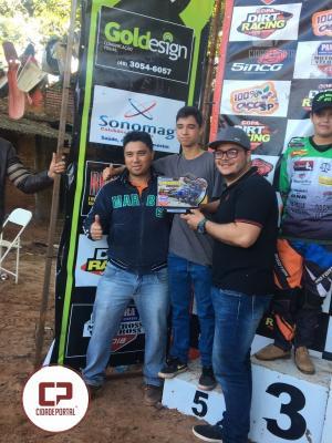 Equipe VX Racing de Goioerê são destaques no promocional de Velocross em Bragapolis