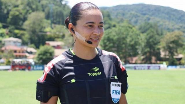 Goioerense Edina Alves será á primeira árbitra na série A em mais de uma década