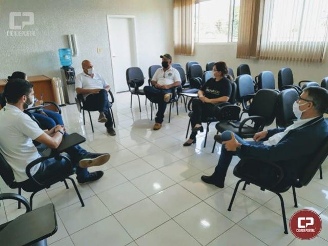 Reunião define o trabalho que será desenvolvido em Goioerê para auxiliar no combate a epidemia de dengue