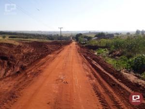 Administração Municipal de Goioerê realiza adequações na estrada velha da Fonte Azul/Duas Pontes