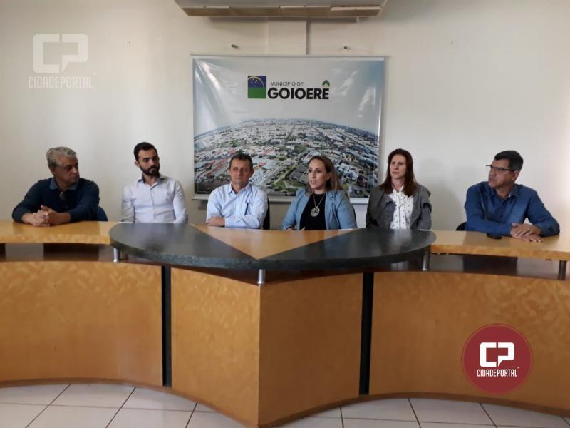 Pedro Coelho apresentou nova Secretária de Saúde nesta quinta-feira, 21