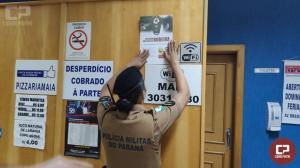Polícia Militar de Maringá realiza Campanha de Prevenção a Furtos em Veículos