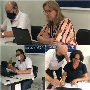 NRE de Goioerê realiza reunião semanal com foco na permanência dos alunos no Google Sala de Aula