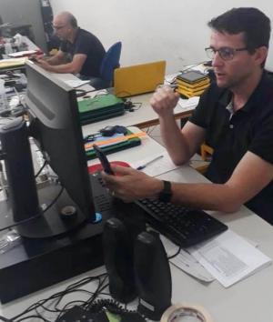 A CRTE do NRE de Goioerê promoveu treinamento aos diretores e pedagogos