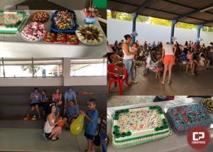 APAE de Goioerê e Pastoral da Criança comemoram o Dia das Crianças