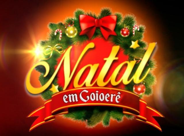 Papai Noel chega dia 14 em Goioerê - Confira a programação completa dos horários especiais