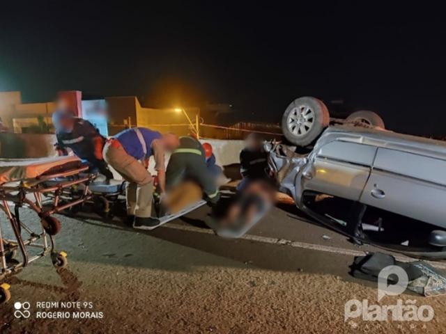 Motorista causa grave acidente e foge sem prestar socorro em Maringá
