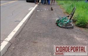 Idoso morre com traumatismo craniano em acidente na BR 272 próximo a Vilas Candeias