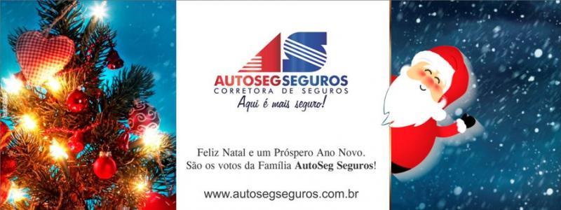 Família AutoSeg Seguros deseja um Feliz Natal e um Próspero Ano Novo!