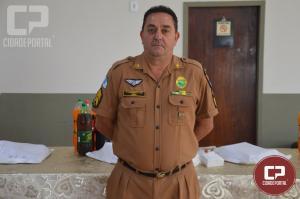 Comando da Polícia Militar em Goioerê homenageia militares que entraram para reserva