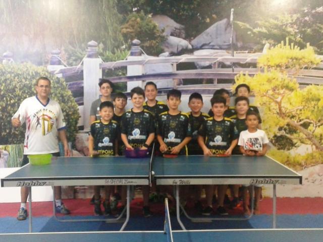 Atletas de Tênis de Mesa de Goioerê vão participar de torneio em Cascavel dia 25