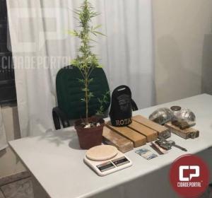 Polícia Militar prende rapaz de 18 anos e um menor por ato infracional em Mandaguaçu