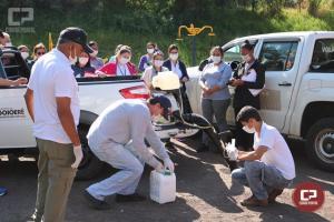 Técnicos da 11ª Regional de Saúde ministram treinamento aos agentes de endemias de Goioerê