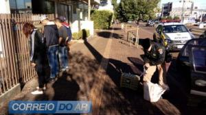 Polícia Militar de palotina detém 4 goioerenses com quase 35 kg de maconha