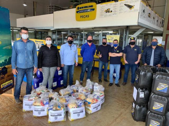 Centro Educacional Santa Clara de Goioerê agradece doações de diversas cestas básicas