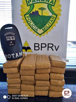 Rotam da 4ª Cia da Polícia Rodoviária Estadual apreende drogas que seriam entregues em Maringá