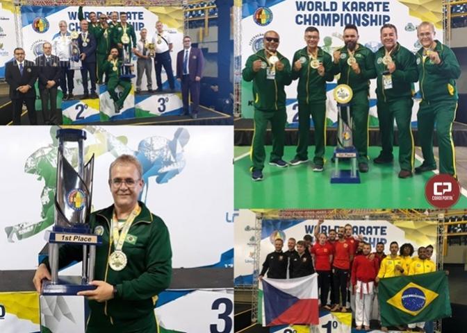 Brasil conquistou bicampeonato Mundial de Karatê em Fortaleza