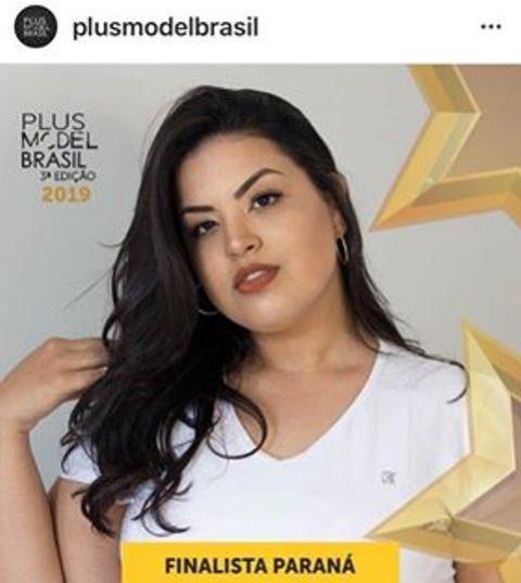 Goioerense Mariana Marques é uma das finalista do concurso Plus Model Brasil