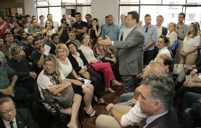 Vereadores participaram do lançamento do Programa Internet Para Todos na Capital do Estado