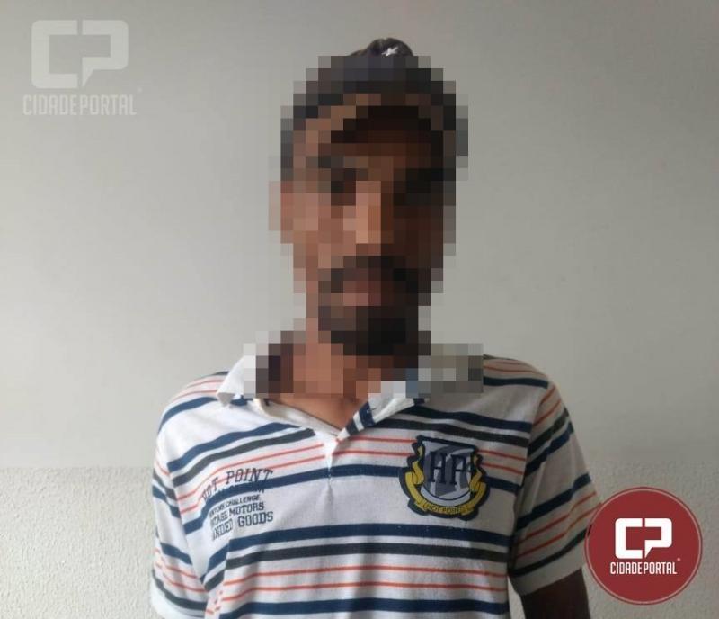 Serviço reservado da Polícia Militar de Goioerê prende Nêgo Brauna