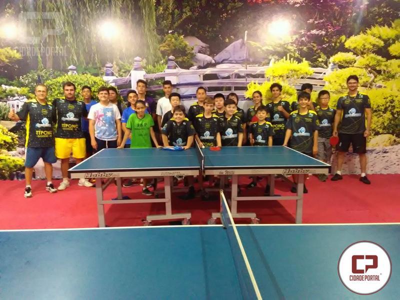 Projeto TTPONG - recebe visita de Projeto Social de Cruzeiro do Oeste
