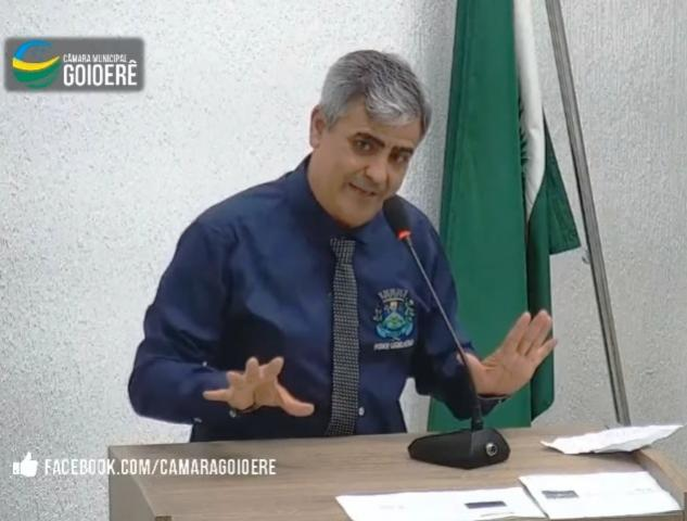 Vereador Joaquim sugere ao prefeito municipal que deixe o prédio do fórum para Secretaria de Educação