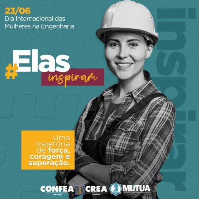 Crea-PR comemora Dia Internacional da Mulher na Engenharia nesta terça-feira, 23