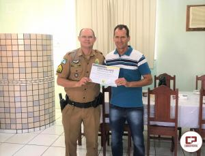 7° BPM homenageia Policial Militar que encerra carreira na PMPR