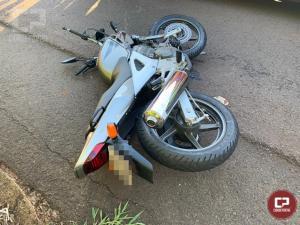 Motociclista perde a vida em acidente na PR-482, entre Maria Helena e Umuarama