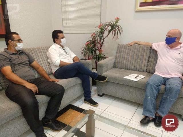 Betinho Lima se reúne com presidente da Câmara de Goioerê para definir cerimônia de posse