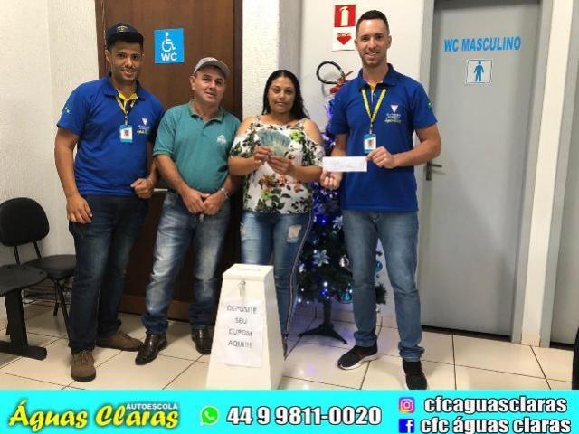 Ganhadora de 1000 mil reais da CFC Águas Claras é de Quarto Centenário