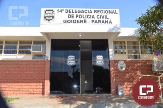 Autor de tentativa de homicídio em Goioerê foi preso pela Polícia Civil