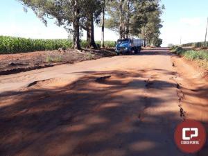 Descontentes, moradores fecham rodovia PR-180 entre Goioerê e Quarto Centenário