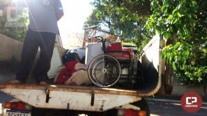 Casal de idosos que teve a casa atingida em vendaval já esta uma nova residência
