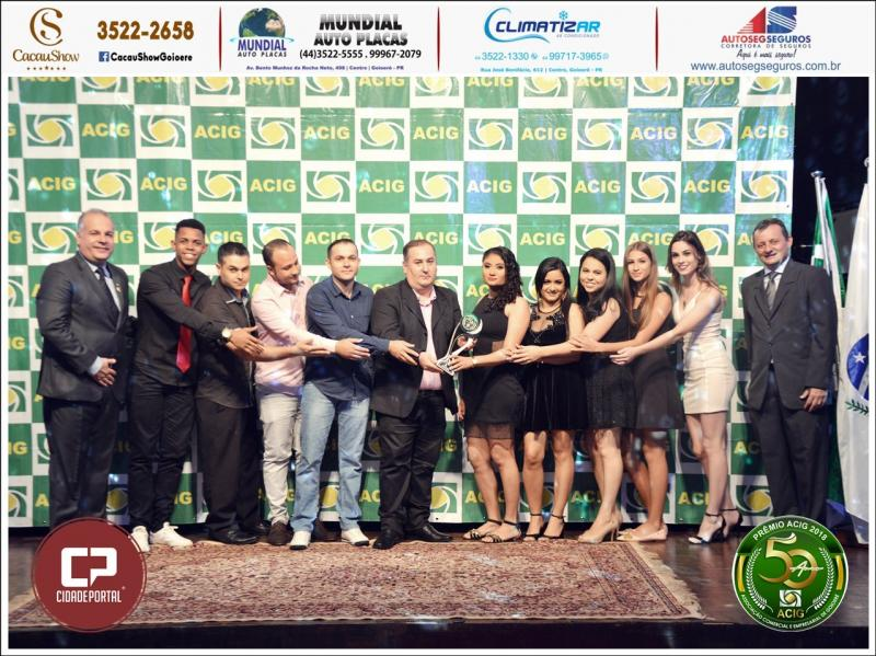 Hidrobombas Goioerê recebeu o Prêmio Acig - Melhores do Ano 2018