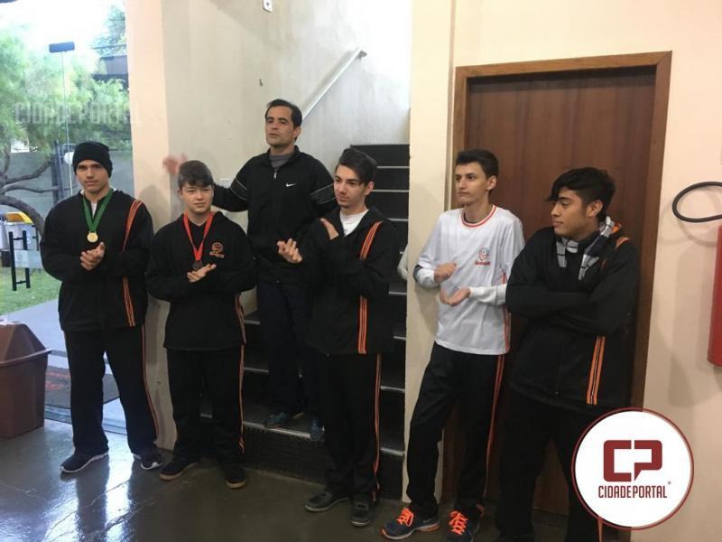 Alunos do Colégio Novo Mundo ganham medalhas nos Jogos Escolares em Moreira Sales