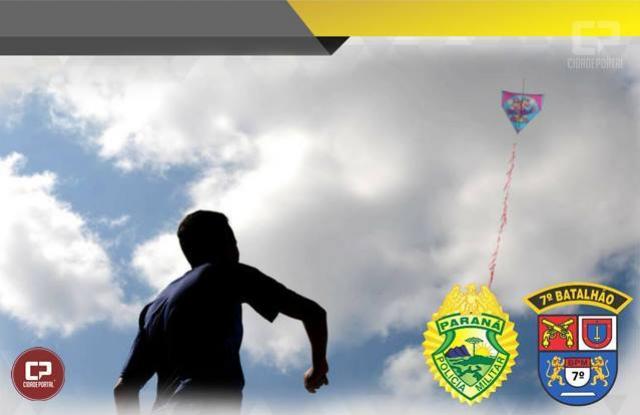 PMs de Cruzeiro do Oeste farão encaminhamento de pessoas flagradas soltando pipa com cerol
