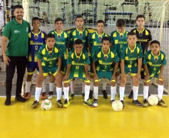 Equipe Sub 11 e sub 13 de Futsal de Goioerê com bons resultados no Campeonato Paranaense