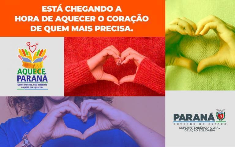 """PRE de Goioerê adere campanha """"Aquece Paraná"""" e recebe doações"""