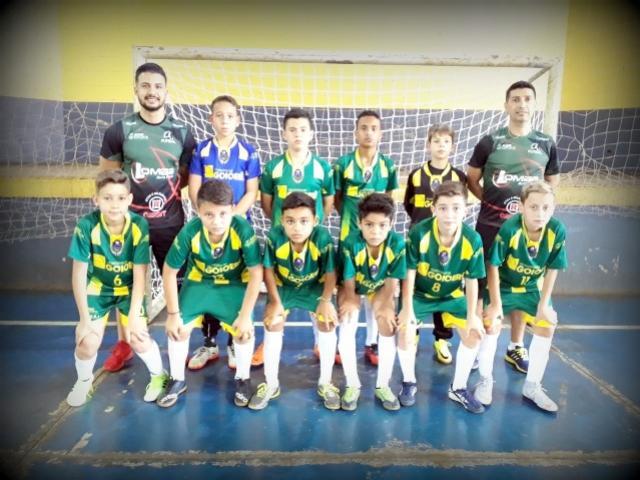 A equipe do Goioerê Futsal Sub-11 está entre as 08 melhores equipe do Paraná
