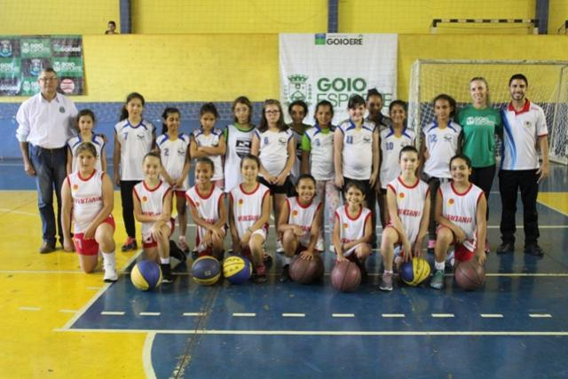Basquete Feminino Sub-10 e Sub-14 é destaque no Goio Esporte