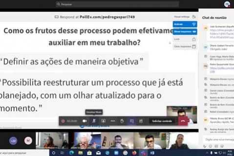 Circuito de oficinas promoveu a capacitação de servidores do IAT