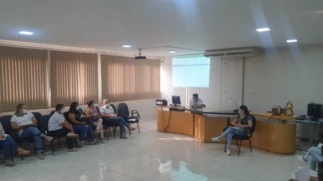 Saúde de Goioerê realiza reunião para alinhamento da vacinação contra a Covid-19 em adolescentes