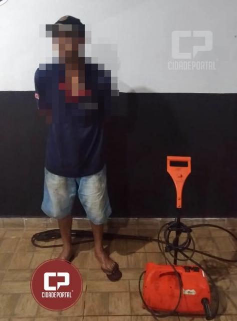 Equipe RPA prende uma pessoa  em flagrante por furto nesta madrugada em Goioerê