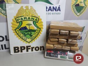 Apreensões de drogas são registradas pelo BPFron em ações na fronteira