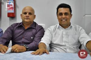Betinho Lima unindo lideranças para eleições de outubro empossa Odair de Oliveira na presidência do PSC