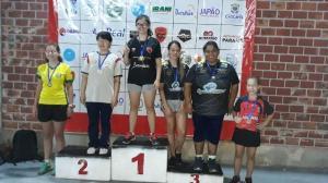 Tênis de mesa Águas claras projeto ttpong brilha mais uma vez em Cascavel