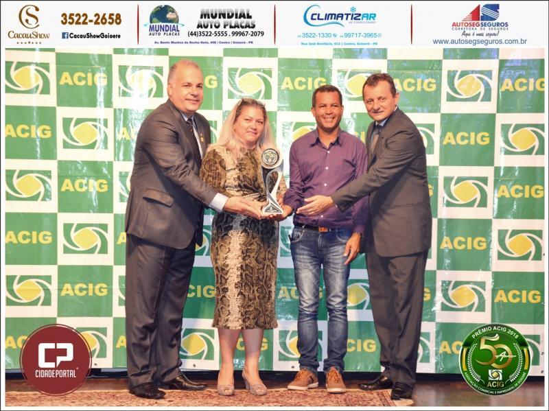 Metalúrgica Metalforte recebe Prêmio Acig Melhores do Ano 2018